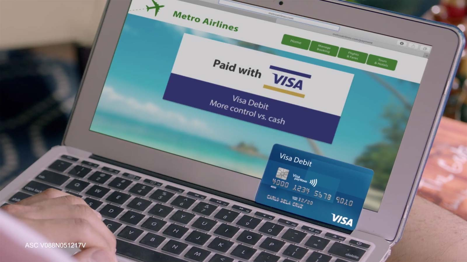how to use visa debit card