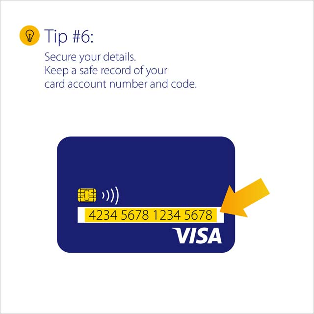 Tips in using my Visa card abroad